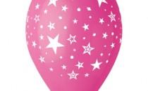 Štampa na balonima zvezdice