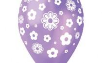 Štampani baloni cvetov