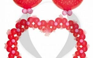 Srce od link balona